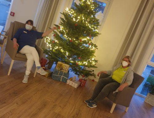 Weihnachtliche Grüße vom Seniorenhaus in Krefeld