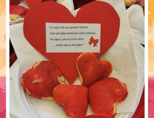 Valentinstag in den Comunita Seniorenhäusern