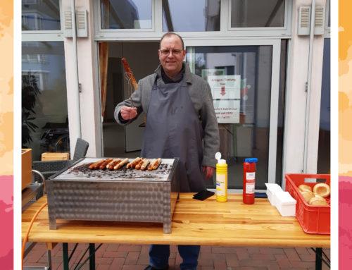 Eröffnung der Grillsaison im Seniorenhaus Coldinne Stift