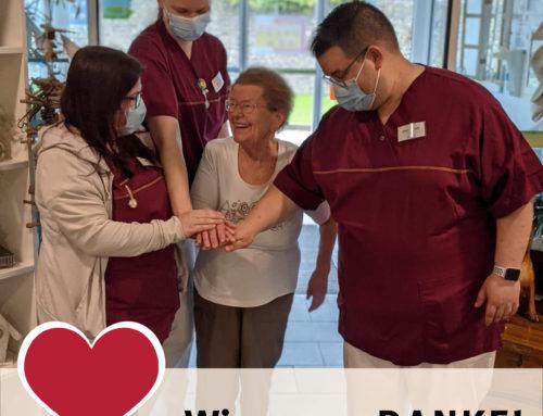 Internationaler Tag der Pflege 2021 in den Comunita-Seniorenhäusern