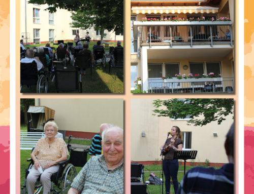 Gartenkonzert im Seniorenhaus Vinzenz