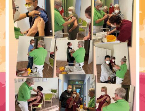 Booster-Impfungen für unsere Senioren und unsere Mitarbeiter